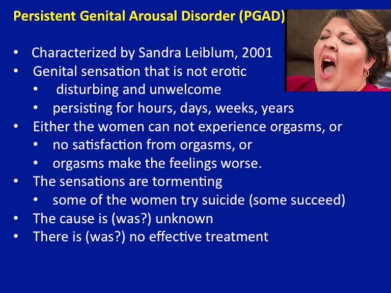 Persistent Genital Arousal Disorder (PGAD): Causes, and Treatments 4