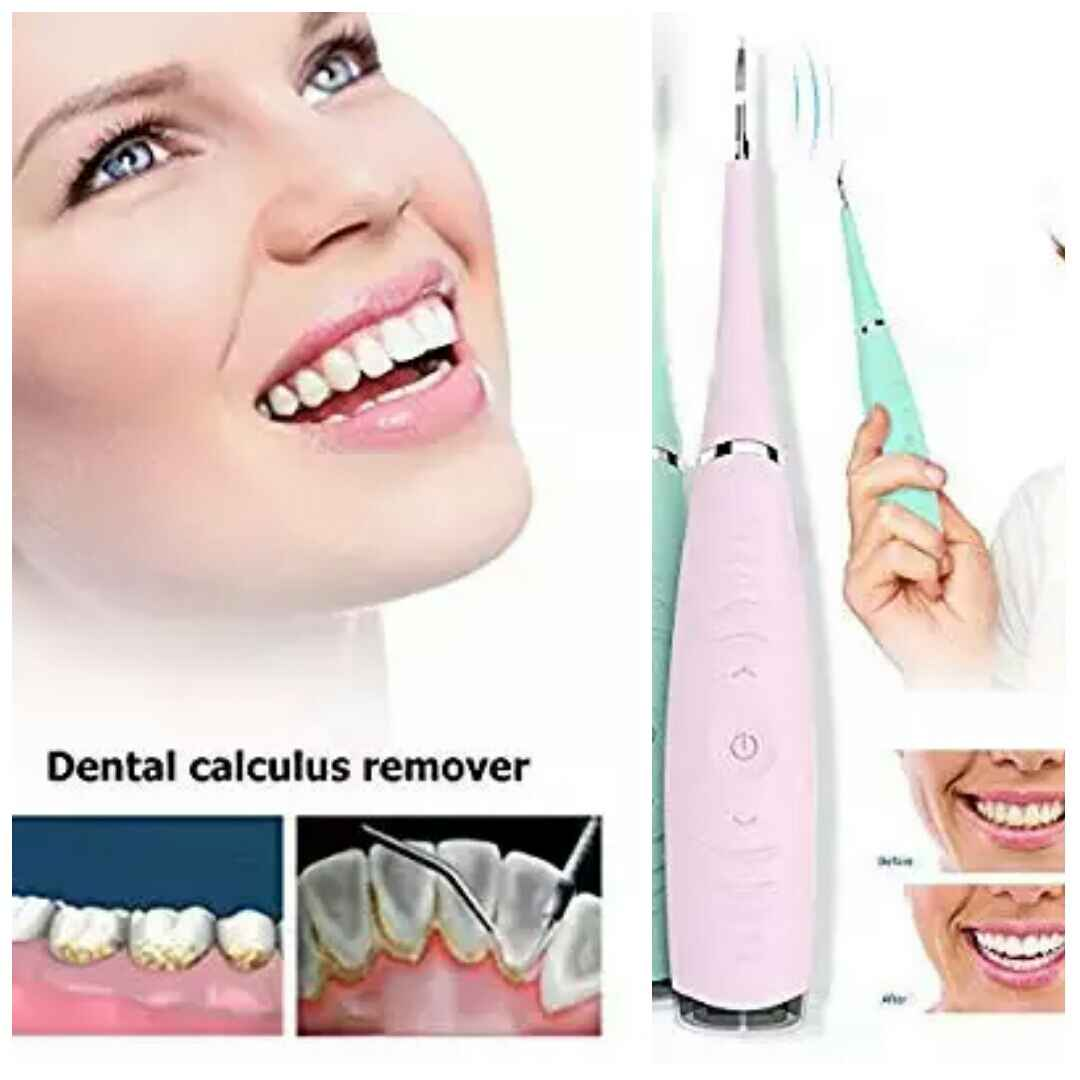 teeth stain Electric Sonic Dental Calculus Plaque Remover Tool Kit