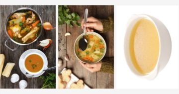 Chicken broth-Tooth Extraction-11 Foods to Eat After pulling a toot