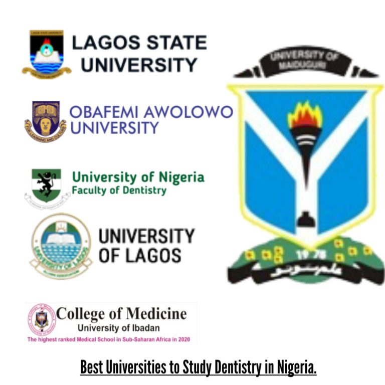 Best Universities to Study Dentistry in Nigeria.