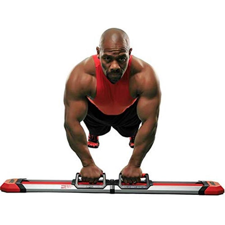 Iron Chest Master Push Up Machine - The Perfect Chest Workout. Fully Assembled with Built-in Resistance Bands. Includes Workou | Walmart Canada