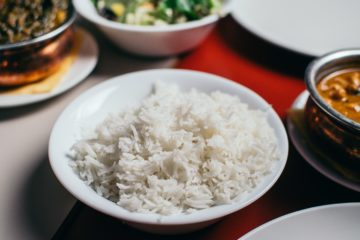 Nigerian foods with high calories, white rice