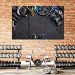 8 Unique Ways to Decorate Home Fitness Room