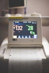 Recording Vitals during Amniocentesis