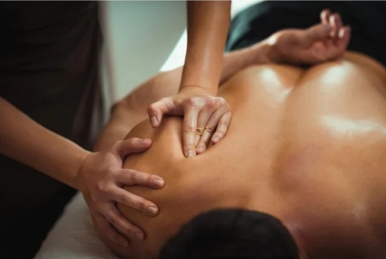 Does sitting all day make your neck and shoulders tight? Find massage therapy near me!
