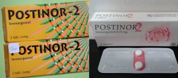 Effects of postinor-2 on the womb